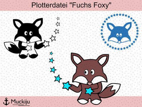"""Plotterdatei """"Fuchs Foxy"""""""