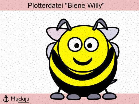 """Plotterdatei """"Biene Willy"""""""