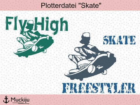 """Plotterdatei """"Skater"""""""