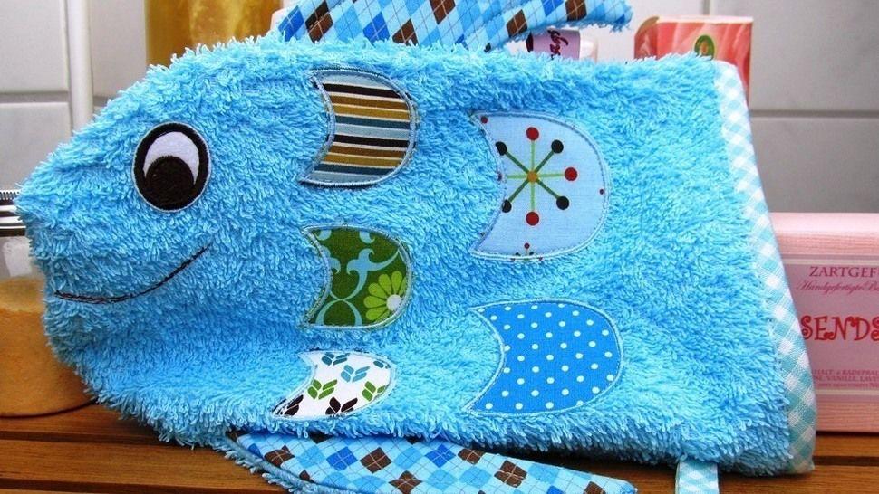 E-Book Waschlappen Fisch gewerbliche Nutzung bei Makerist - Bild 1