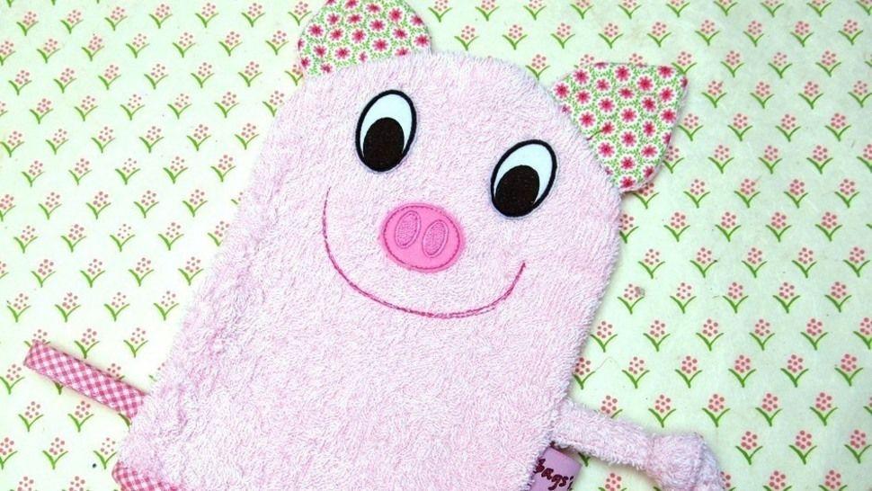 E-Book Waschlappen Schwein gewerbliche Nutzung bei Makerist - Bild 1
