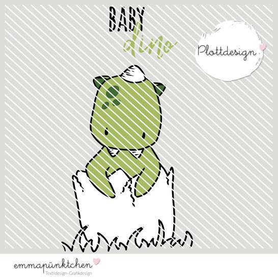 emmapünktchen ® - baby dino plottdesign bei Makerist - Bild 1