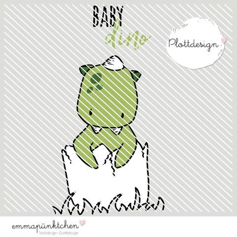 emmapünktchen ® - baby dino plottdesign bei Makerist