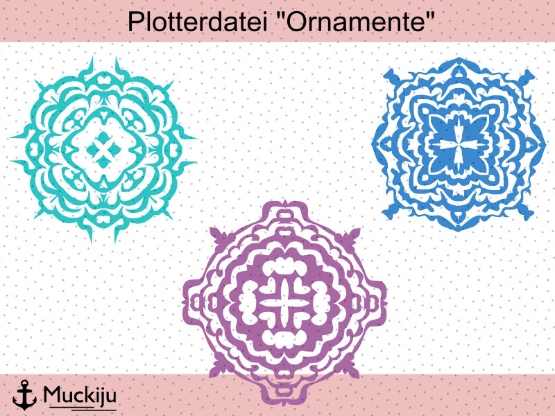 "Plotterdatei ""Ornamente"""