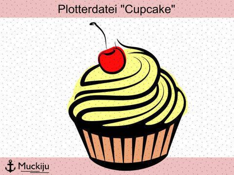"Plotterdatei ""Cupcake"""