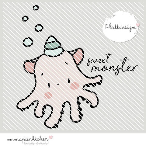 emmapünktchen ® - sweet monster plottdesign
