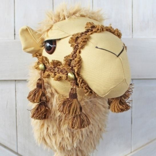Camel Ride-on Toy Stick Horse Hobby Horse in Two Sizes at Makerist - Image 1