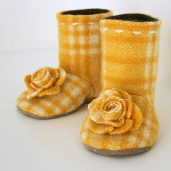 Flower Boots at Makerist - Image 1