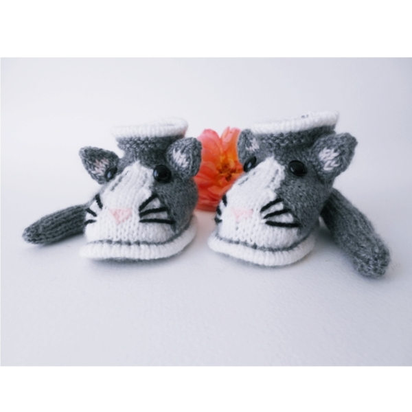 Chaussons chat