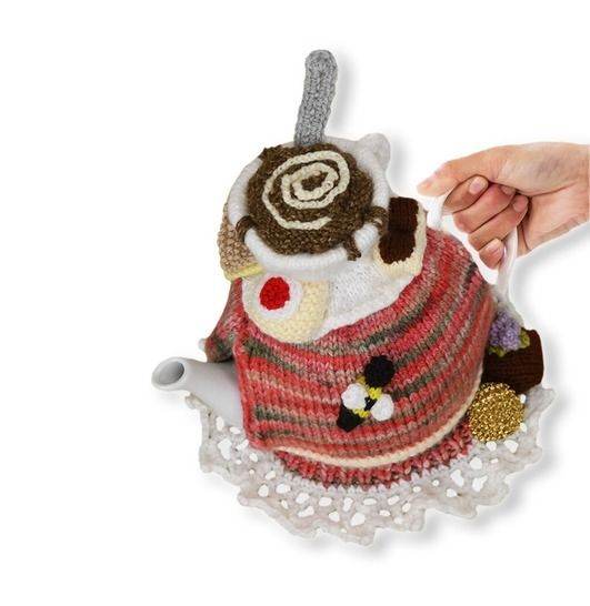 Tea and Biscuits Tea Cosy at Makerist - Image 1