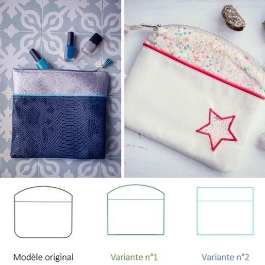 La Pochette Candy multi-poches (en 6 variations) chez Makerist - Image 1