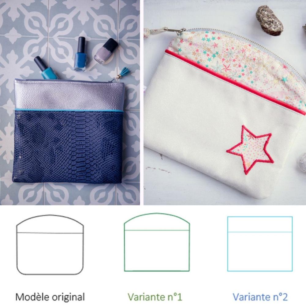 La Pochette Candy multi-poches (en 6 variations)