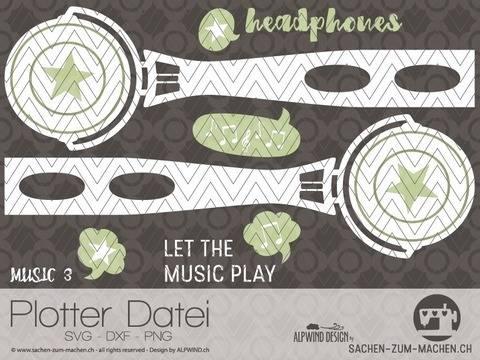 """Plotter-Datei """"music"""" #3"""