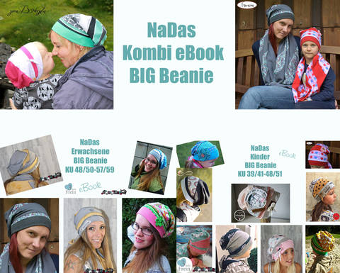"eBook Kombi ""BigBeanie Kinder & Erwachsene"""