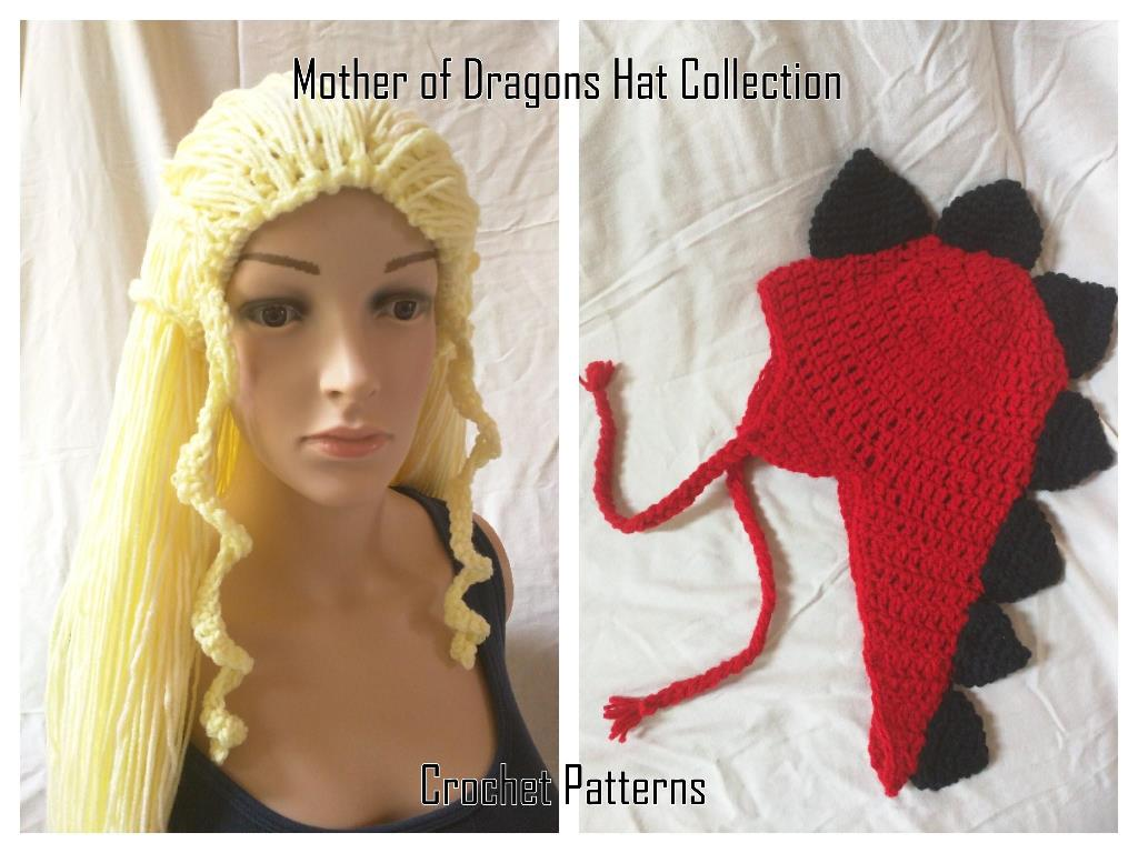 Mother of Dragons - Hats Crochet Patterns
