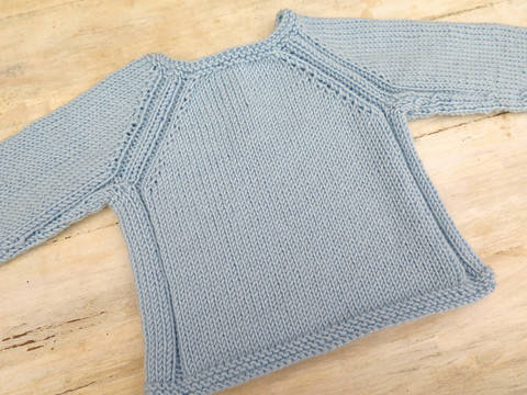 Best Buddies Jumper- Top Down Knitting Pattern