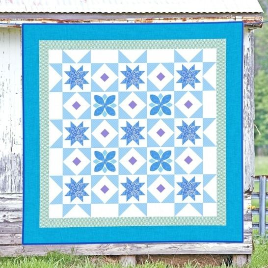 Midnight Blue - Quilt Pattern at Makerist - Image 1