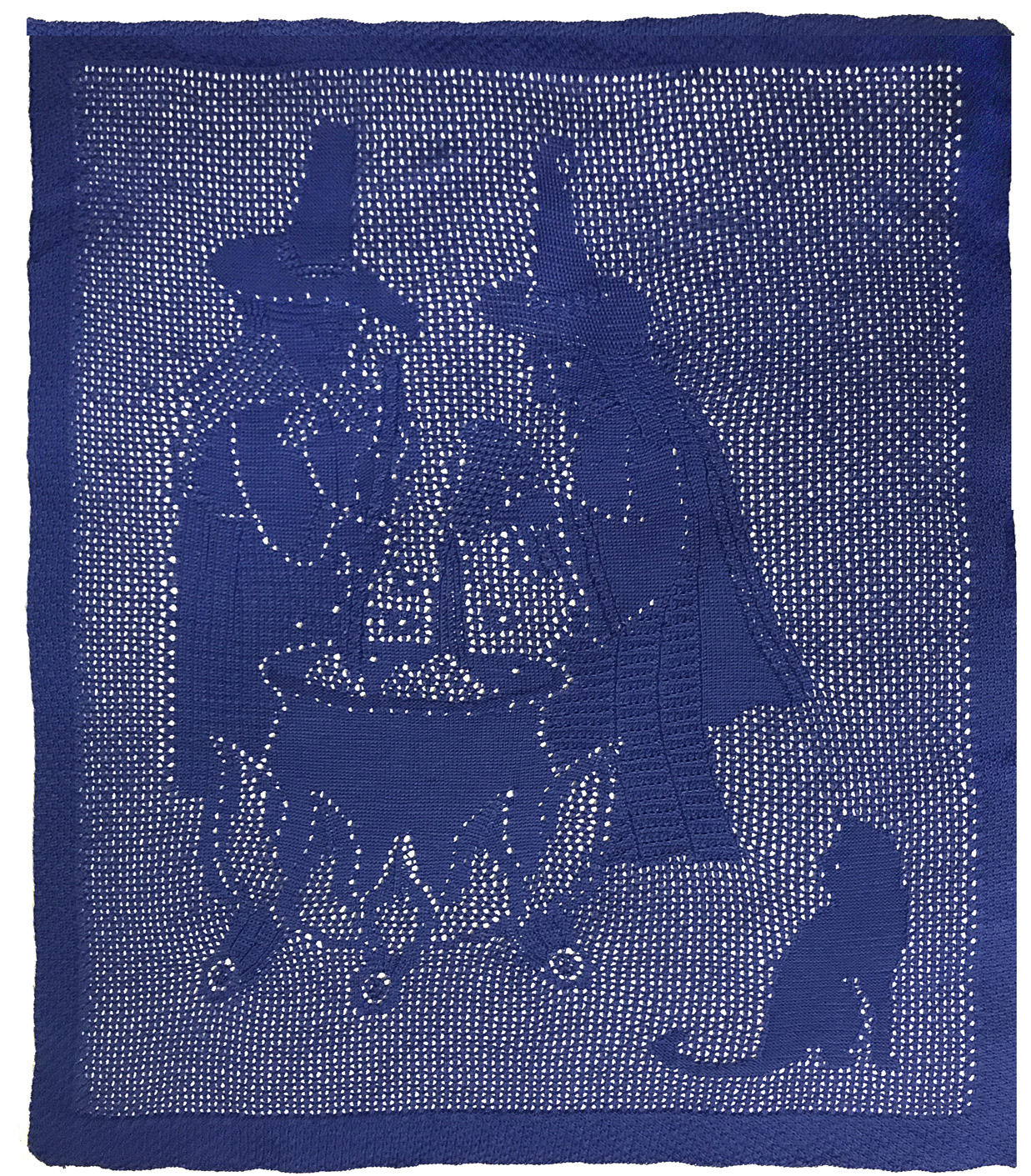 Witches' Brew knitted Throw