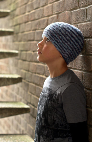 Aileron beanie hat - knitting pattern at Makerist - Image 1