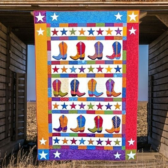 Boot-n-Skoot - Quilt Pattern at Makerist - Image 1