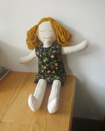 Classic Rag Doll Sewing Pattern and Instructions at Makerist - Image 1