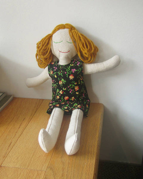 Classic Rag Doll Sewing Pattern and Instructions at Makerist