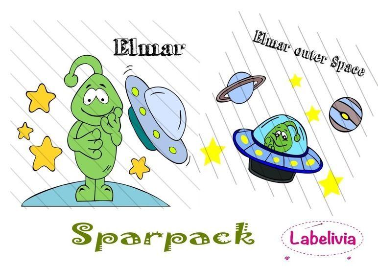 Digi-Stamp Elmar Sparpack bei Makerist - Bild 1