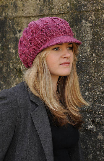 Erica brimmed hat - knitting pattern at Makerist - Image 1