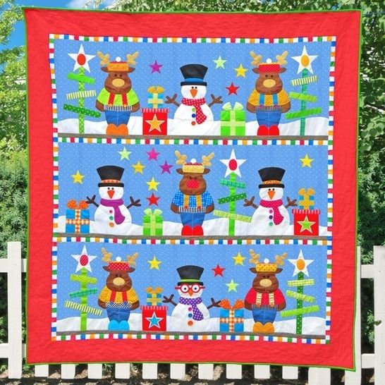 Frosty's Christmas - Quilt Pattern at Makerist - Image 1