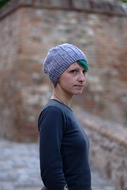 Alternato textured beanie - knitting pattern