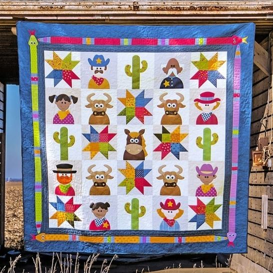 The Wild West - Quilt Pattern at Makerist - Image 1