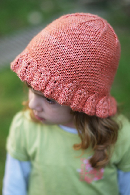 Emilia beanie hat - knitting pattern