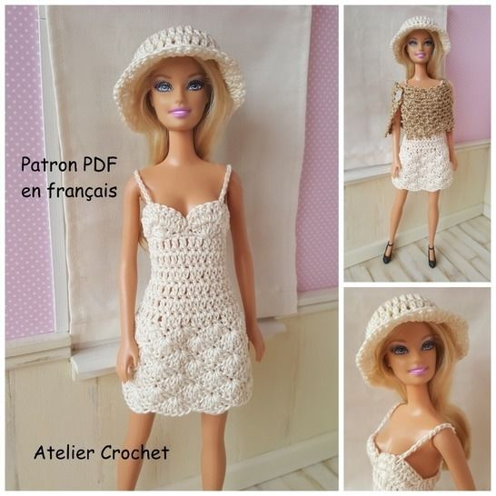 Belinda - tenue au crochet - poupée Barbie chez Makerist - Image 1