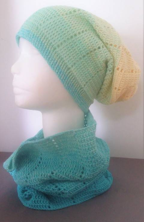 "Häkelanleitung Loop und Long Beanie ""Two in One"" bei Makerist"