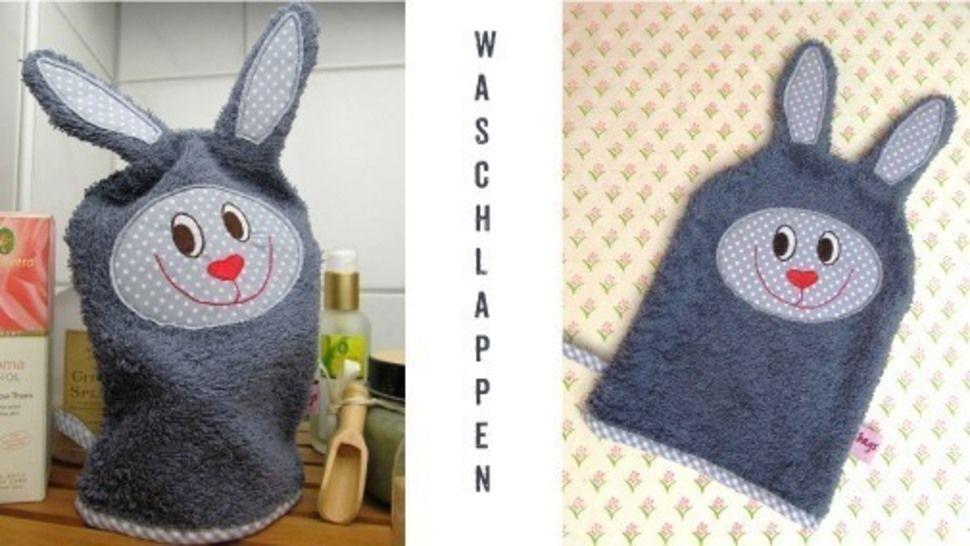 E-Book Waschlappen Hase gewerbliche Nutzung bei Makerist - Bild 1