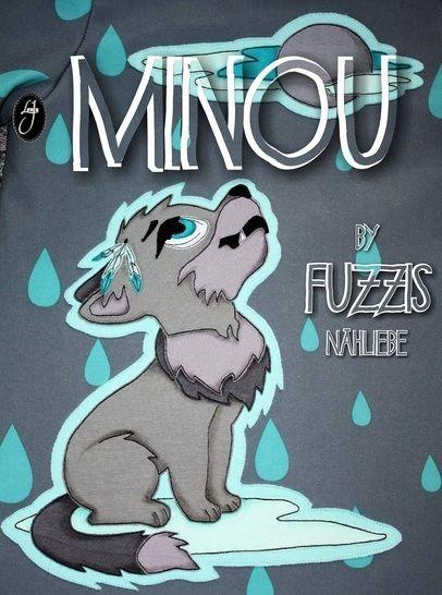 """Applikationsvorlage Wölfchen """"Minou"""" bei Makerist - Bild 1"""