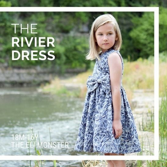 The Rivier Dress PDF Sewing Pattern at Makerist - Image 1