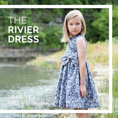 The Rivier Dress PDF Sewing Pattern