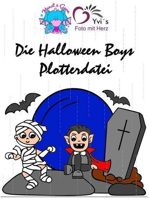 Plotterdatei HalloweenBoys