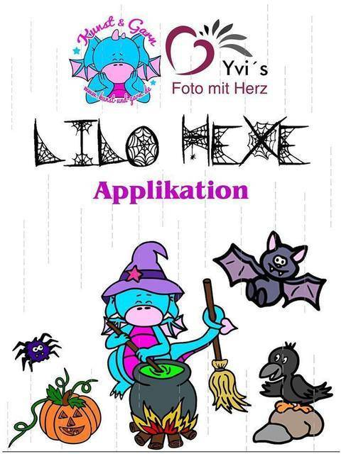 Applikationsvorlage Lilo-Hexe