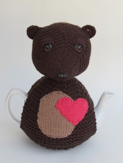 Heart Bear Tea Cosy at Makerist - Image 1