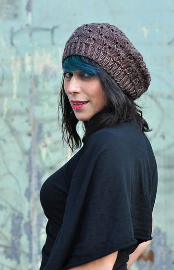 Banksia lacy tam - knitting pattern at Makerist - Image 1