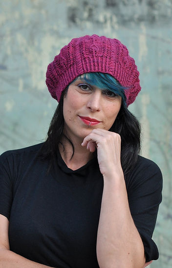 Bellefleur lace beret - knitting pattern at Makerist - Image 1