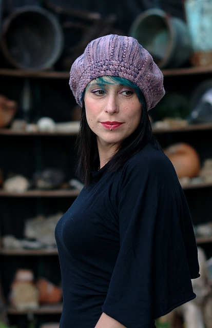 Arbacia beret - knitting pattern