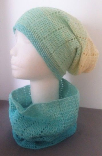 """Crochet Pattern Loop and Long Beanie """"Two in One"""" at Makerist - Image 1"""