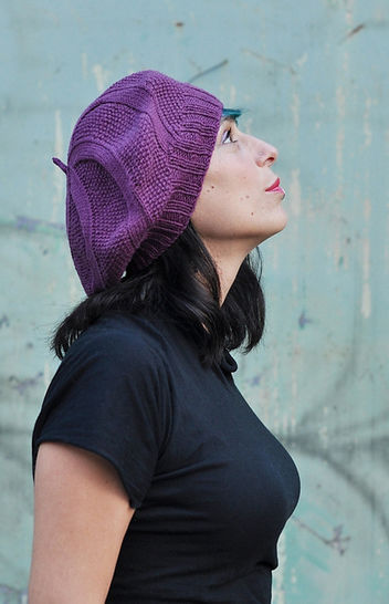 Coldharbour Twist beret - knitting pattern at Makerist - Image 1