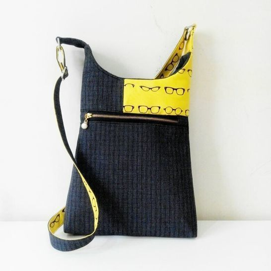 Cross body Bag pattern Casual style at Makerist - Image 1
