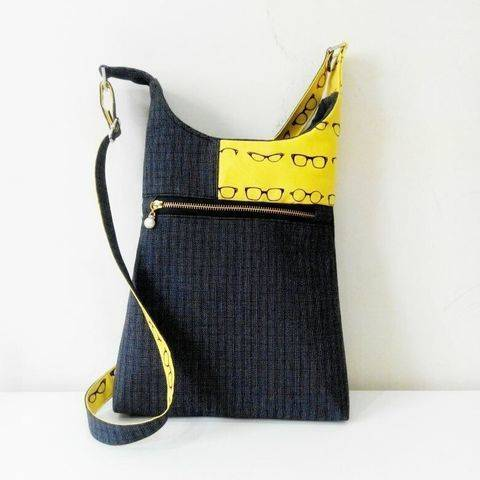 Cross body Bag pattern Casual style at Makerist