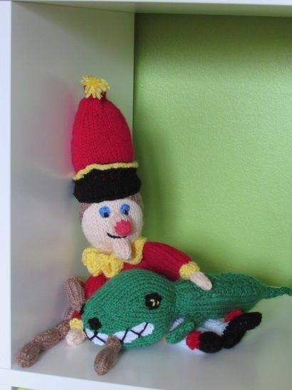 Mr Punch and Crocodile Toys at Makerist - Image 1