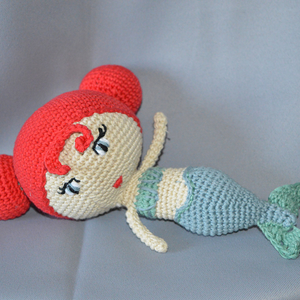 Mermaid Melody, Doll Pattern, amigurumi